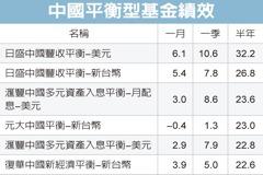 中國平衡型商品 績效靚