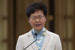 林鄭否認「賣港」 稱盡力讓涉國安罪管轄權留在香港