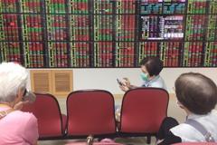 台股收復5日線 漲106點收13,845點