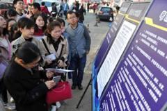 大陸公務員考試逾157萬人今開考 平均錄取率1.6%