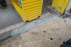 中壢車站前「拆籬」影響騎樓美觀 年底前修補