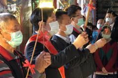 賴清德參加東石鄉富安宮王船祭 提醒信眾防疫不鬆懈
