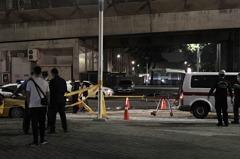高雄凱旋捷運站外計程車起火 疑使用3C起火燒死駕駛