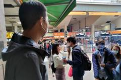 秋冬防疫措施上路 竹市民政處訪視寺廟執行情形