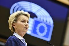 歐盟主席宣示團結 27成員國同天開始接種疫苗
