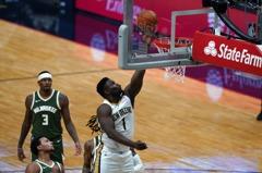 NBA/鵜鶘威廉森狂飆31分 公鹿季前賽3連敗收場