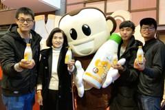 影/宜蘭首批在地豆、在地產「豆奶」 送給學生喝好奶