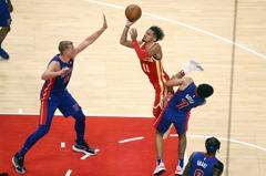 NBA/挺過活塞末節反撲 老鷹開季3連勝躋身東區最前段