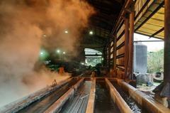 新北泰山違法鋼管工廠破管汙染橫窠溪 環保局查到了!