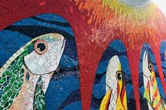 優席夫X冠軍磁磚 攜手部落藝術家打造大型拼貼磁磚藝術牆