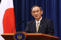 防疫持續低評價 日相菅義偉內閣支持率下探至33%