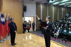 南科管理局新局長蘇振綱下午就任 提出三大工作目標