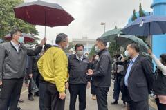 林智堅訪視桃園-新竹管線工程 北水南送工程2月啟用