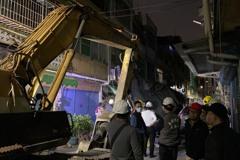 高雄大樓外牆倒塌今晚起清除 對面21住戶暫安置飯店