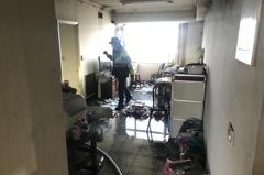 桃園八德傍晚傳住家火警 7旬獨居婦送醫宣告不治