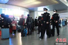 春運大幅下滑 大陸預估發送旅客比去降近6成