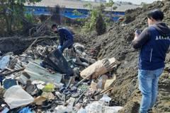 嘉義縣出租土地遭不肖業者回填廢棄物 地主檢舉不法