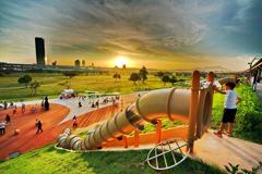 新北450坪親水樂園!熊猴森樂園 打造親子戲水區