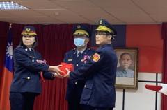 卸、新任少年隊長布達 黃宗仁:拒絕毒品幫派危害少年