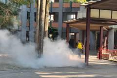 南投縣全面消毒校園環境 為22日開學防疫做準備