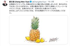 鄭文燦Twitter聲援台灣鳳梨 日網友讚:都送來日本吧