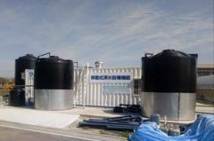中市府設RO級移動式淨水設備 每日產水500噸紓解水荒