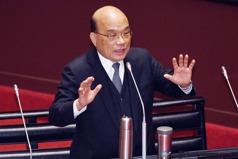 政院未討論勞保改革 蘇揆重申不會倒