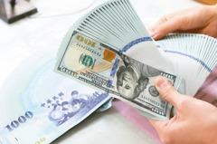 外資落跑新台幣爆量貶近1角 貶幅半年最大