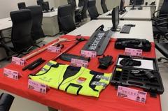 即將試營運!台中捷運警察隊揭牌 專責警力守護維安