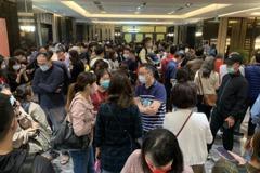 台南近高鐵站預售屋案場千人搶買 國稅局也進駐現場