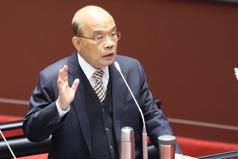 蘇貞昌:現在沒有要推出囤房稅
