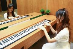 中捷「森林系」廁所 還可彈鋼琴