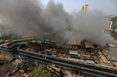 印度收治COVID-19病患醫院大火 至少6死