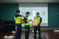 新竹縣辦學校AED管理員訓練 守護全校師生安全