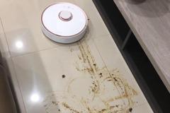 她爽開掃地機器人 返家這景象令網笑噴:根本災難現場