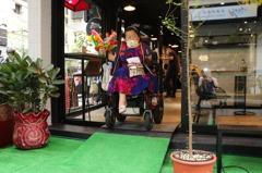 身障者一句話 新北新莊義式餐廳改變店裝潢
