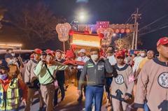 民進黨竹市黨部參與大甲媽遶境 為台灣、新竹祈福