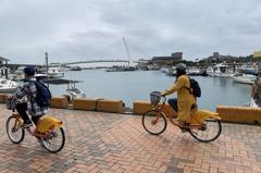 淡水第一漁港水環境改善 騎單車不怕人車爭道