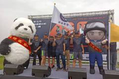 新北保大霹靂特警參賽鐵道馬拉松 特警Q版玩偶助陣