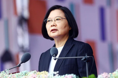 蔡英文聲望達五成四 台灣民意基金會:吃美國仙丹有效