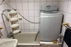洗衣機放浴室浴缸上嚇壞人 過來人曝:沒陽台才這樣做