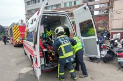 中年男跌入大樓機械停車位下層 傷重已無呼吸心跳送醫