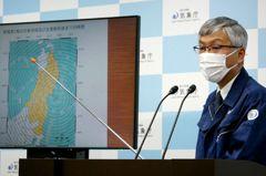 日本外海地震規模上修6.8 新幹線停駛5小時