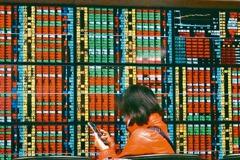 電子股走弱台股收跌344.31點 三大法人賣超200.61億
