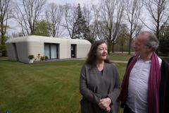 5天蓋好、月租2.7萬元 荷蘭夫妻入住歐洲第一棟3D列印房子