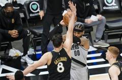 NBA/安東尼總得分躍居史上第10 拓荒者惜敗老鷹