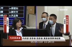 綠委要兩人握手和好 徐國勇、陳家欽笑了