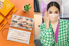 ELLA陳嘉樺《娛樂無限公司》同款系列口罩開賣!「三角黑橘」、「千鳥飛飛」時尚兼具防疫