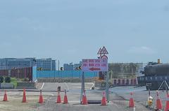 桃園機場5月調整道路動線 請駕駛人注意標示減速慢行