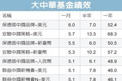 大中華基金 錢景閃亮